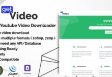 Getvideo Nodejs Youtube Video Downloader V2.0.0 Free Download