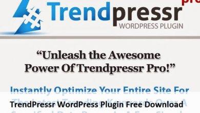 TrendPressr WordPress Plugin Free Download