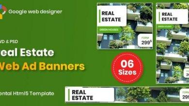Real Estate Banners Google Web Designer v1.0