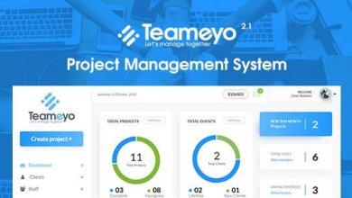 Teameyo v2.1 - Project Management System