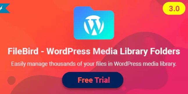 Filebird V3.1.1 Wordpress Media Library Folders