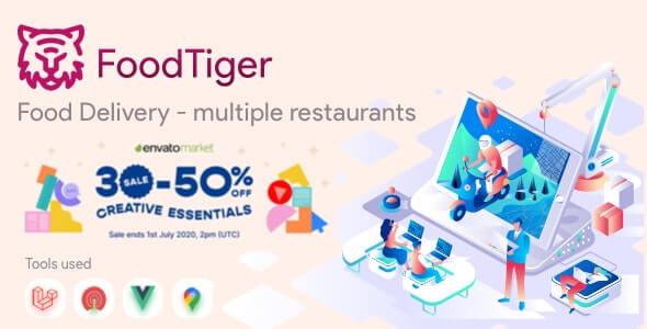 Foodtiger Food Delivery Multiple Restaurants