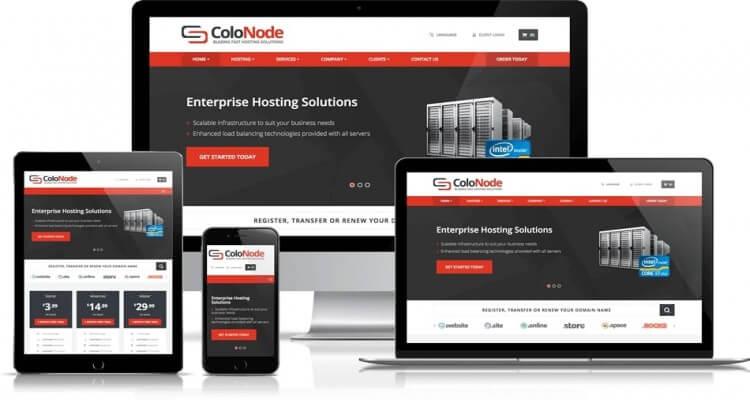 Colo Node Premium Whmcs Template V8.0.2