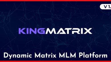 Kingmatrix Dynamic Matrix Mlm Platform Free Download