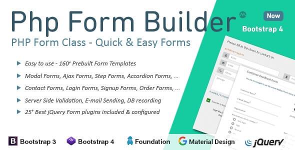 Php Form Builder V4.5.0 Free Download