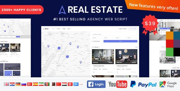 Real Estate Agency Portal V1.6.8 Free Download